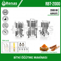 RBT-2000 - Industrial Hard Mill Grinding Machine - 2000gr